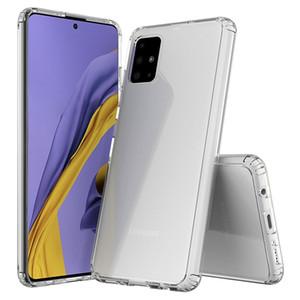 TPU + acrílico caso combinado claro transparente para Samsung Galaxy A50 A50s A30S A40 A20 A30 M30 A40s A20e A20S resistente a los arañazos Resistente a los golpes Cubierta