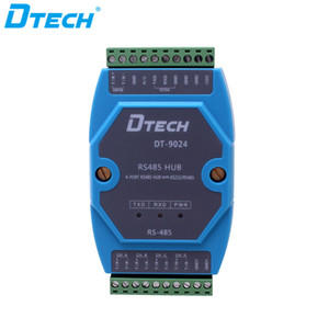 Free shipping Industrial converter Active RS232 RS485 to 4 port RS485 HUB