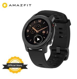 2020 En stock mondial Nouvelle version Amazfit 42mm RTG montre smart watch 5ATM Smartwatch Batterie 12days Music Control Pour Xiaomi Android IOS