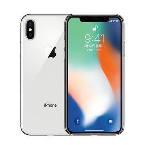 "Apple iPhone X Hexa Core Mobile Phone 256GB 64GB ROM 3GB RAM Dual Rear Camera 12MP 5.8"" 4G LTE refurbished phone Original Unlocked"