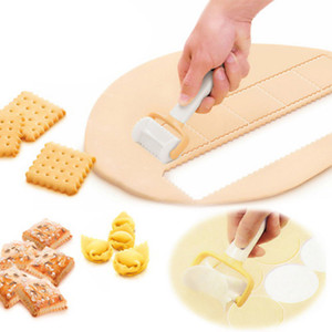 Rolling Cookie Cutters Dough Cutter Roller Slice Biscuit Cutting Blader family accessories for kitchen bakeware cutter roller