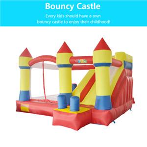 PATIO Inicio Utiliza juguetes castillo hinchable castillo inflable castillo casa de rebote combinado de diapositivas moonwak trampolín inflable con ventilador