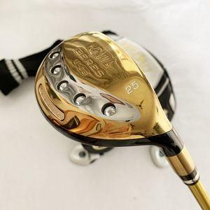 Neue Mens Golf Hybrid Holz Honma u-06 Golf Holz Clubs 19.22.25 Graphite Golf Welle R S flex Kopfbedeckung