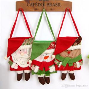 Fun Christma Beuter Kindergeschenke Exquisite Xmas Party-Dekor für Home Neujahr Geschenk Packet Weihnachtsmann Startseite