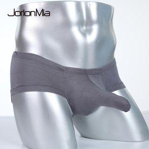 Sexy ropa interior para hombre del pene masculino fresco atractivo del elefante nariz grande bolsa boxer bragas Gay hombres baratos de la ropa interior Calcinha E-01