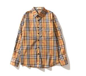 Bestseller Herren Designer Langarmshirts Herren und Damen Mode Gitter Shirts Kanye West Marke Retro Harajuku Streetwear t Scheiße