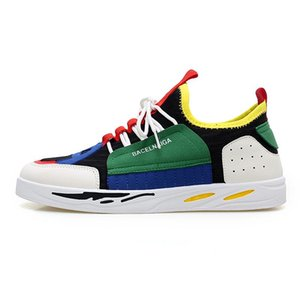 2019 Spring Fashion Sneakers Shoes For Men Summer Air Mesh hococal Breathable Brand Design Colorful Cheap Sale Men's quality Casual Shoes