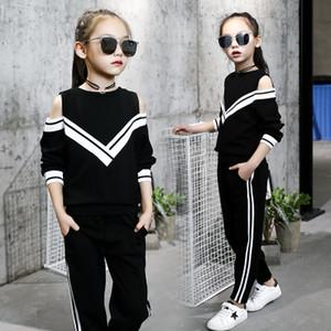 scherzt beiläufige Butikenkleidung 2019 des Entwerfer Mädchenart und weisemädchen-Trainingsanzugs koreanische Vansatzgewindejungen d-Mädchen-Säuglingskleidungkleinkindkleider