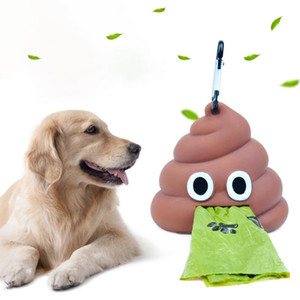 Dog Poop Bag Dispenser ecologico Holder Bag Pet rifiuti esterna portatile Holder Cane sacchetti di immondizia Carrier Pet Supplies
