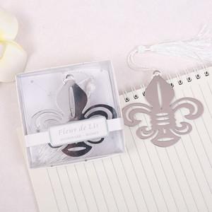 Fleur De Lis Metal Bookmark Wedding Bridal Shower Party Favor Guest Gift Present