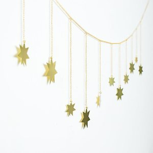 Garland Star String Banners Wedding Banners For Party Home Wall Hanging Decorations baby shower favors