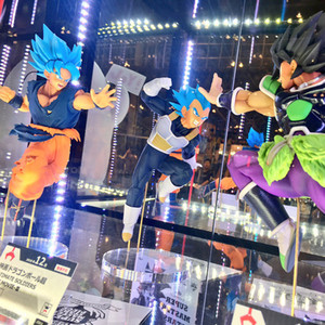 Tronzo Originale Banpresto Dragon Ball Figure Broly Goku Vegeta Gogeta Pvc Action Figure Giocattoli Super Saiyan Figurine In Magazzino J190720