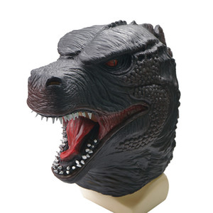 2020 New Godzilla Vajra Monster Latex Mask Party Halloween Mask