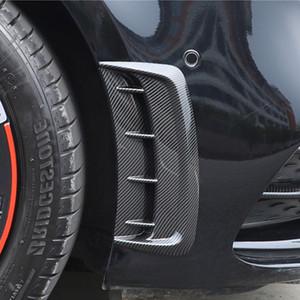 자동차 프론트 사이드 미러 바디 장식 스티커 트림 메르세데스 - 벤츠 A 클래스 A180 (200) 2019 휠 눈썹 에어 아울렛 데칼