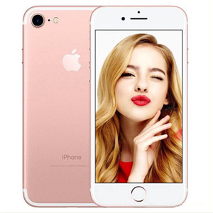 Original Unlocked Apple iPhone 7 iphone 7 plus 4G LTE Quad core 4.7'' 12MP 2G RAM 32G 128G 256G ROM without Touch ID refurbished Phone
