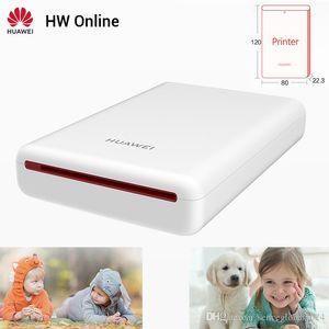 Huawei Mini Photo tasca portatile dello stampatore onore del telefono mobile AR Stampante 300dpi Bluetooth 4.1 Supporto fai da te Condividi 500mAh