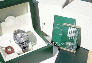 Nouvelle usine de vente Hommes 2813 Mouvement automatique NOUVEAU MENS INOX ARGENT STICK DATE JUSTE II # 116300 avec la boîte originale montres de plongée