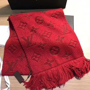 Moda inverno 2019 di marca Sciarpa di modo degli uomini di alta qualità del cashmere di mens sciarpe di disegno ScarvesSize 180x30cm senza trasporto libero della scatola
