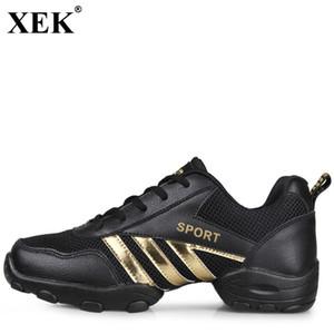 XEK 2018 танцевальная обувь сетка дышащий мягкий тренажерный зал кроссовки современная Сальса Джаз специальность танцевальные кроссовки мужские спортивные тренировки мужчины JH180