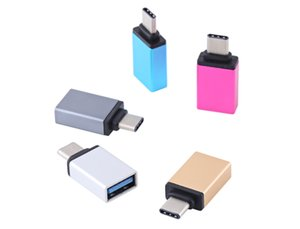 Type-C USB 3.1 OTG Adapter Converter with 5 colours