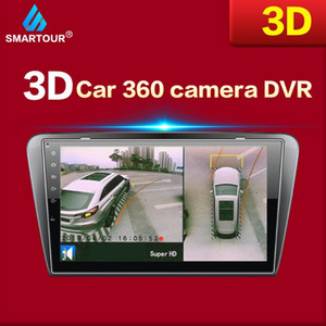 Smartour Bird-System HD-3D-360 Surround View System Multi-Winkel einstellbar Metall Autokamera 1080P DVR 360 Kamera-Auto-DVR