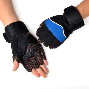 Unisex Gloves Gym Body Building Dumbbells Sports Exercise Training Wrist Fitness Hiking Gloves