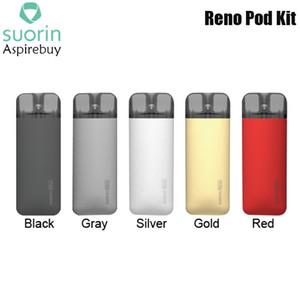 Suorin Reno Kit Sistema Pod con cartuccia Pod 800mAh batteria ricaricabile 13W Pod Vape Kit 3ml Reno 1.0ohm Mesh Coil Ecigarette Authentic
