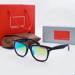 Authentic Designer Sonnenbrillen-Marke farer Modell 2140 Azetatrahmen echte UV400 Glaslinsen Sonne original Ledertasche Pakete everyt Brille