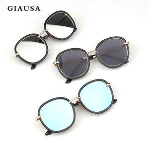 GIAUSA 2020 New Arrived Cute Baby Fashion Big Round Sunglasses Children Brand Designer Frame Baby Boys Girls Eyewear