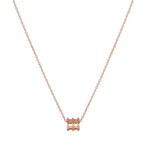 Titanium Steel Plated 14K Gold Waistline Necklace Women Clavicle Chain Necklaces Korean Style Non-Fading Simple Fashion Accessories