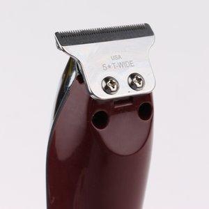Elektrikli 220 V profesyonel kablolu düzeltici saç kesme Berber kesim Berber dükkanı saç şekillendirici Giyotin jilet kuaförlük kesme makinesi DHL