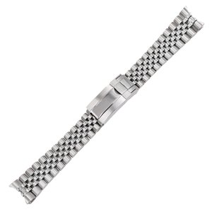 20mm 316L solid stainless steel Replacement Wrist Watch Band watchband Strap Bracelet Jubilee with Oyster Clasp For Master II