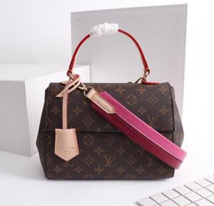 2020 Yeni Fransız high-end marka bayanlar diyagonal torba gündelik moda deri iş rahat parti seyahat kadınların Dana derisi çanta ücretsiz shippi
