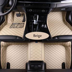 Cadillac ATS CTS XTS SRX SLS Escalade 3D tüm hava halı zemin astar araç-stil için deri özel uygun araç paspaslar