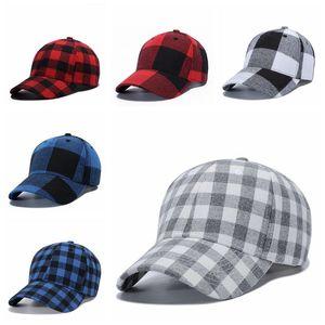 الأحمر الجاموس تحقق القبعات الأحمر منقوشة قبعات البيسبول منقوشة قبعة casquette الكرة قبعات متقلب حزب قبعة cca11952a 60 قطع