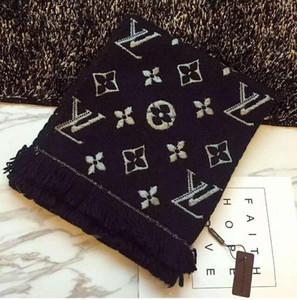 Home Fashion Accessoires Hüte, Schals Handschuhe Schals Wraps Schals Produkt Detail Luxus Winter-Schal für Frauen Marke Designers