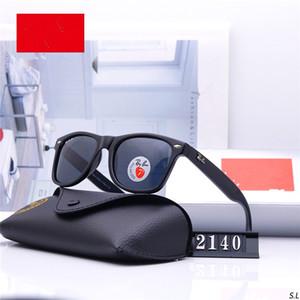 A mais recente marca óculos high-end dos homens e das mulheres, 2140 moda clássica óculos polarizados, UV400, Lei Peng hd óculos polarizados