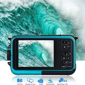 Waterproof Digital Camera Camera 24 MP Video Recorder Full HD 1080P DV Recording#T2
