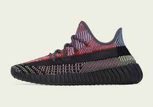 Diseñador de zapatillas de deporte Yecheil Kanye West niños hombres zapatos de las mujeres para la venta con la caja de zapatos para correr envío de la nueva Kanye West almacenan size36-48