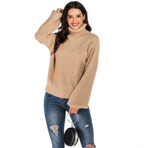 الملابس جديد الخريف الشتاء عارضة أزياء النساء حك المرأة البلوزات المرأة سترة السيدات دافئ التلبيب فضفاض مريح البلوز عادي اللون PUF