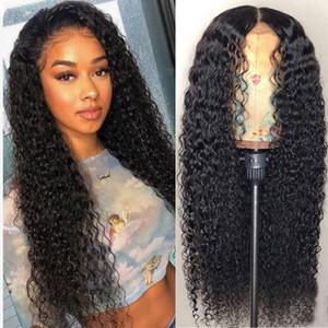 Parrucche ondulée Perruque Pizzo frontale Perruques de cheveux humains perruque brésilienne Perruque chiusura del merletto