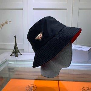 шляпа высокого качества классический чистого цвета мужчин и женщины путешествия ВС шлем Роскошных значок классических письма пояс ведро шляпа ЦВЕТ.ПОЛОСА Рыбак
