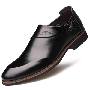 2019 New Style Hidden Elevator 6 Cm MEN'S Leather Shoes Business Formal Wear Pointed-Toe Leather Shoes Elevator Shoes