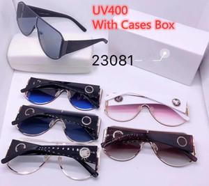 Luxary очки Солнцезащитные очки Мужские Солнцезащитные очки Женщины Крупногабаритные Большой Большой Том Sunglasses Мужской Марка Дизайнер Паровая Punk Зеркало Солнцезащитные очки