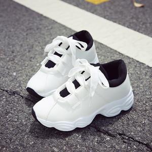 2019 Spring Fashion nuovi ins scarpe casual super-fuoco femminile studenti coreani selvatici singoli pattini di marea a piedi scarpe da uomo tennis sneakers