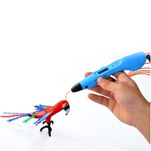 3D-Drucker Pen 3D-Zeichnungs-Feder 3D-Druck-Feder-v3 mit OLED-Schirm geben Verschiffen frei