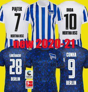 20 21 Hertha BSC Berlin Inicio Fútbol jerseys DUDA LOWEN KALOU Kopke MITTELSTADT TORUNARIGHA equiparla 2020 2021 7 piątek lejos camiseta de fútbol