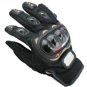 حار بيع في الرياضة كامل الإصبع نايت ركوب دراجة نارية قفازات 3d تنفس شبكة النسيج الرجال الجلود القاطرة قفاز