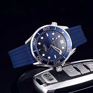 Top de luxo qualidade relógio mar 007 james mens relógios oito estilo 300m discagem 42 milímetros relógios relógio masculino movimento automático