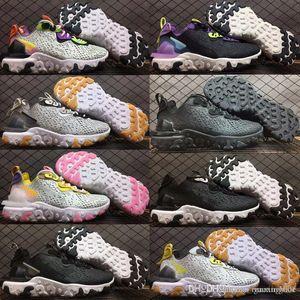 New react D MS X running shoes for men women Light Bone triple black bred Hyper Pink mens trainers sports sneakers runner 36-45